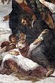 Giovanni da s. giovanni (in basso) e volterrano (in alto), s. felice soccorre s. massimo, 1636, 09.JPG