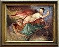 Giovanni da san giovanni, Storie mitologiche e veterotestamentarie, 1634-1635 circa, affresco su terracotta, aurora e il sonno.jpg