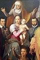 Giovanni maria butteri, madonna in trono col bambino, s. anna, santi e personaggi famiglia medici, 02.JPG