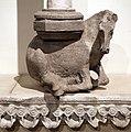Giovanni pisano, sculture dalla loggetta superiore del duomo di massa marittima, 04 cavallo.jpg