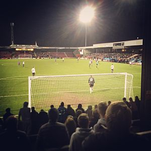 Scunthorpe United F.C. - Glanford Park as seen from the Britcon stand