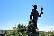 Glooscap monument, Millbrook, Nova Scotia