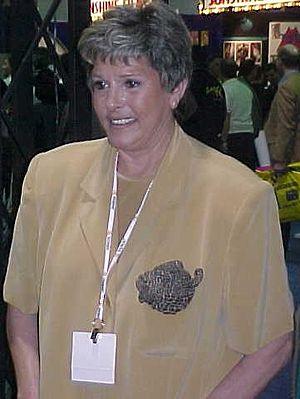 Gloria Leonard - Leonard at the Consumer Electronics Show in Las Vegas, January 1999