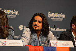 Gor Sujyan, ESC2013 press conference 08.jpg