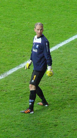 Gunnleifur Gunnleifsson - Gunnleifsson playing for Iceland in 2012