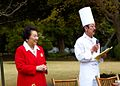 Governor Domoto and Chef Ogawa explain menu.jpg