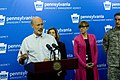 Governor Wolf and PEMA Director Rick Flinn Give Briefing on Hurricane Joaquin (21879736241).jpg