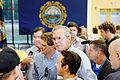 Governor of Florida Jeb Bush at TurboCam, Barrington, NH 1 on August 38th by Michael Vadon.jpg