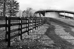 Grace Farms - Grace Farms is built on 80 acres of land.