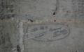 Graffiti ym Mhen y Garret, Llanberis yn cofnodi tywydd anarferol.png