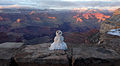 Grand Canyon National Park, Last Snowman of Winter - Flickr - Grand Canyon NPS.jpg