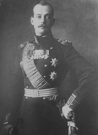 Grand Duke Andrei Vladimirovich of Russia - Image: Grand Duke Andrei Vladimirovich of Russia 1907
