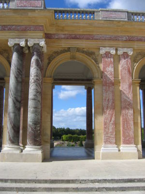 Jean Joly (sculptor) - arches and capitals for Grand Trianon by Jean Joly, Palace of Versailles
