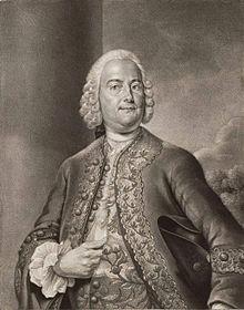 Carl Heinrich Graun, Valentin Daniel Preissler 1752 nach Andreas Möller (Quelle: Wikimedia)