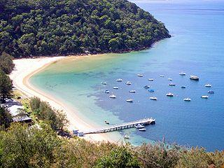 Great Mackerel Beach, New South Wales Suburb of Sydney, New South Wales, Australia