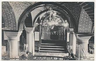 History of the Jews in Iraq - The Great Synagogue of Baghdad circa early 20th century