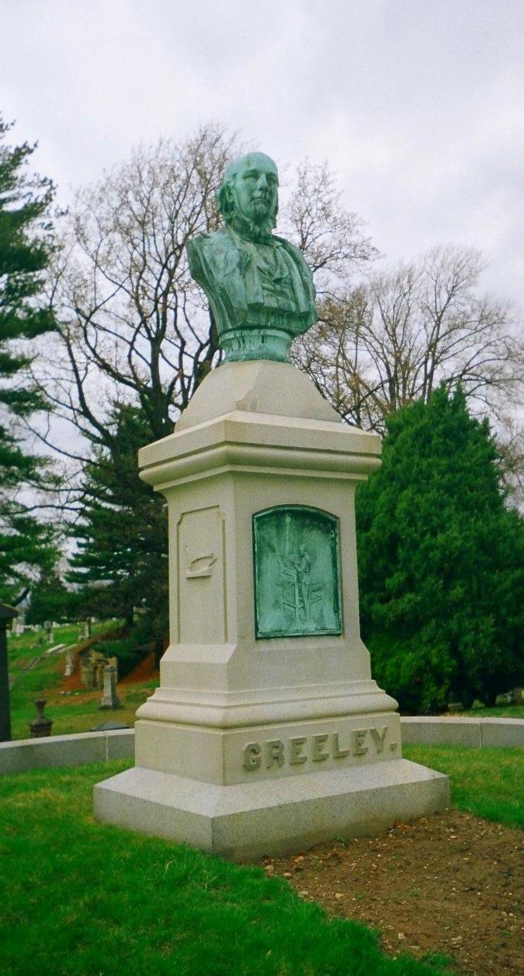 Greeley grave