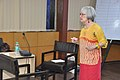 Gretchen Jennings Interacts With Participants - Workshop On Learning In Science Museums - NCSM - Kolkata 2018-07-10 2411.JPG