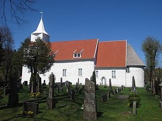 Fjære - View of Fjære Church