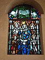 Groesbeek (NL) De Horst, Goddelijk Hart van Jezuskerk glasinloodraam (03).JPG