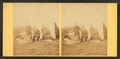 Group of people in front of a tipi, from Robert N. Dennis collection of stereoscopic views.png