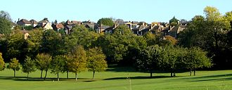 Hanwell Park - Part of Hanwell Park after its redevelopment for housing