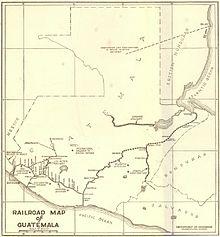 Fervoja transporto en Gvatemalo - Wikipedia