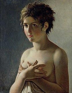 jeune fille en buste wikipedia