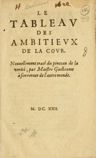 File:Guillaume - Le Tableau des ambitieux de la cour, 1622.djvu