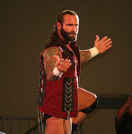 Gunner in April 2014 at a TNA live event. - Gunner (wrestler)