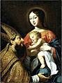 Guy François Vierge à l'enfant et st Augustiin.jpg