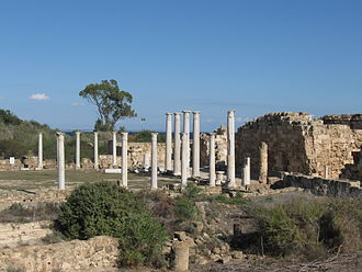 Salamis, Cyprus - The gymnasium at Salamis