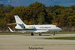 HB-JGG Dassault Falcon 2000EX F2TH - MSC Aviation (30854523665).jpg