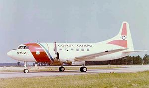 Convair C-131 Samaritan - A U.S. Coast Guard HC-131A.