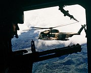 HH-53C over Vietnam October 1972