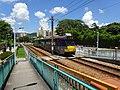 HK 屯門 Tuen Mun 青麟路 Tsing Lun Road 港鐵 青松站 Ching Chung Stop tram July 2016 DSC.jpg