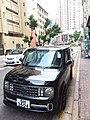 HK CWB Causeway Bay 銅鑼灣道 Tung Lo Wan Road carpark Nissan black Cube July 2019 SSG 12.jpg
