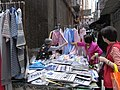 HK Central Des Voeux Road Polo Shirt on Sale 顧客 Customers n 小販 Vendor Feb-2010.jpg
