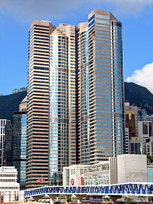 Exchange Square is an office tower in Hong Kong.