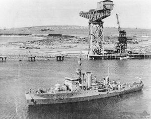 HMAS Pirie (J189) - HMAS Pirie in 1946