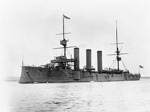 HMS Essex (1901) - Image: HMS Essex