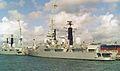 HMS Glasgow (D88) Type 42 destroyer 4,820 tonnes Royal Navy. (11632288315).jpg