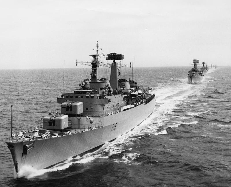 HMS London, 1971 (IWM)