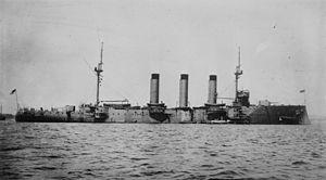 Monmouth-class cruiser - HMS Suffolk
