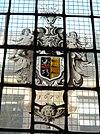 haarlem - waalse kerk glas-in-lood raam 1670