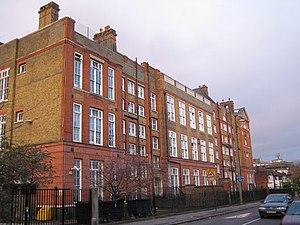 London School Board - Sigdon Road School (1898), Hackney, now Brook Community Primary School