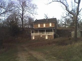Linn County, Kansas - Image: Hadsell House