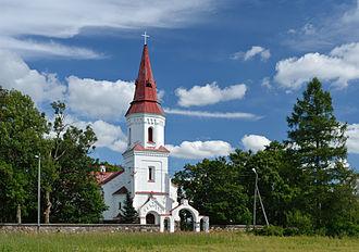 Rapla County - Image: Hageri kirik 2012