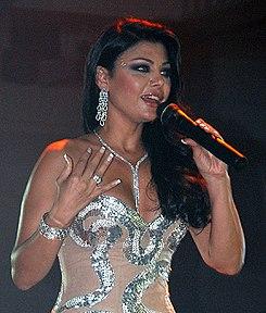 Haifa Wehbe Wedding Cake