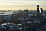 Hamburg Elbe and Michel from St Nikolai 2019-02.jpg